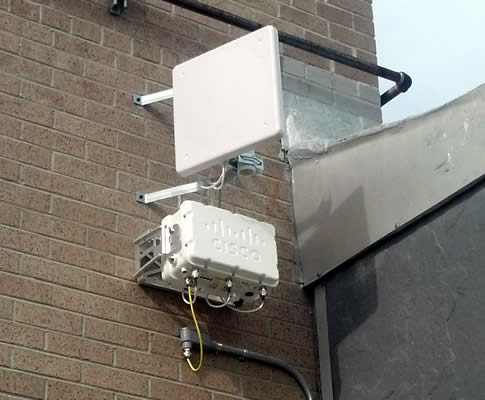 Directional point to point Exterior Cisco Access Point – York County Schools